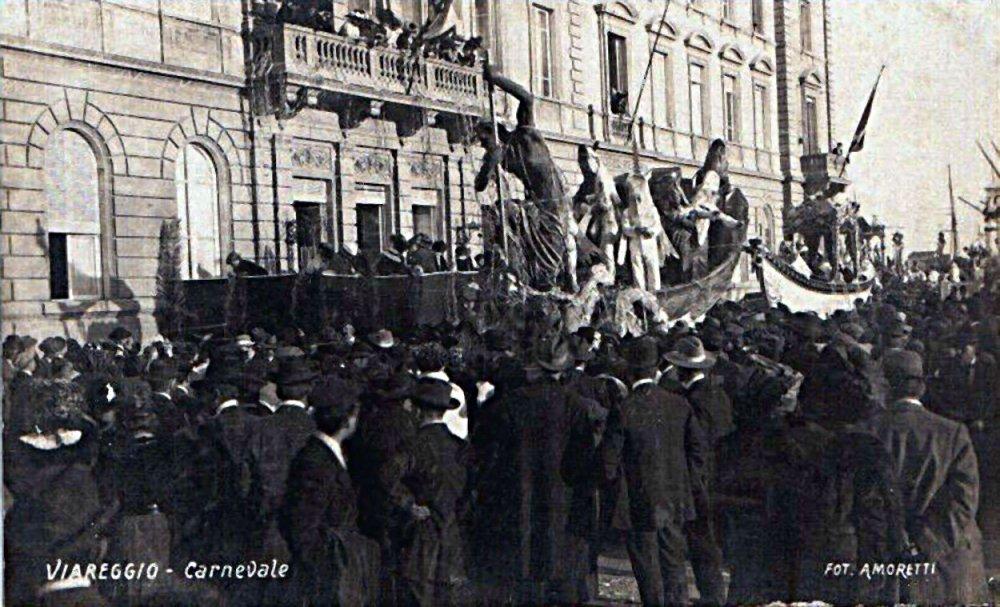 Nettuno al carnevale di Paolo Gemignani - Carri piccoli - Carnevale di Viareggio 1911