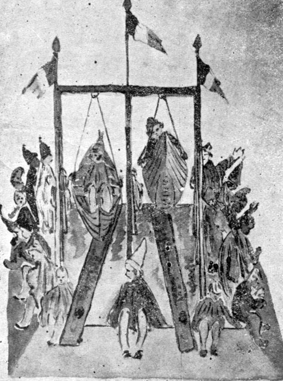 Altalena di  - Mascherate di Gruppo - Carnevale di Viareggio 1921