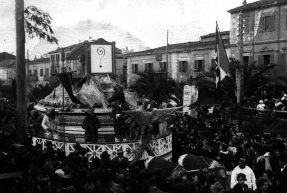 La trappola ed i topi di Guido e Angelo Baroni - Carri piccoli - Carnevale di Viareggio 1921