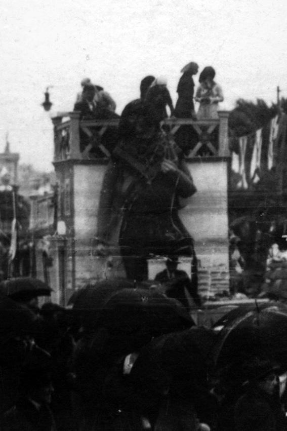 Le epoche di Viareggio di Mario Tofanelli - Carri piccoli - Carnevale di Viareggio 1921