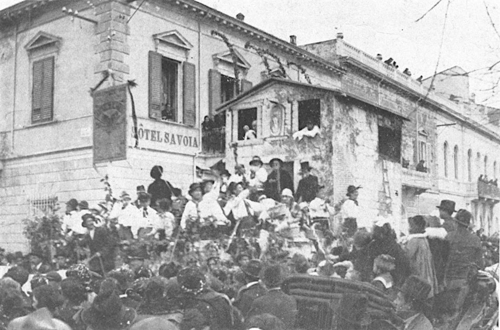 Le nozze di Tonin di Burio di Giuseppe Giorgi - Carri piccoli - Carnevale di Viareggio 1921