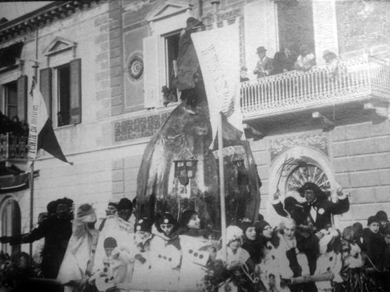 Il trionfo di Tonin di Burio di Giampiero Giorgi - Carri grandi - Carnevale di Viareggio 1923