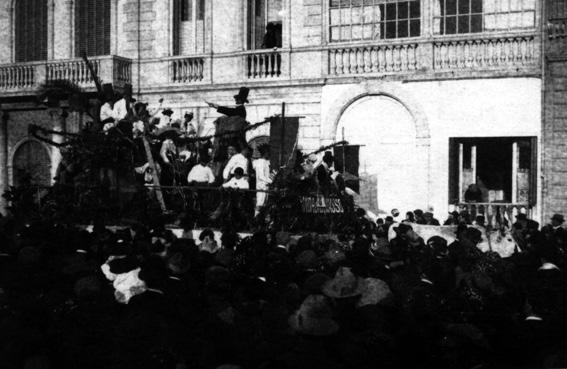 La banda di Chiasso di  - Carri grandi - Carnevale di Viareggio 1923
