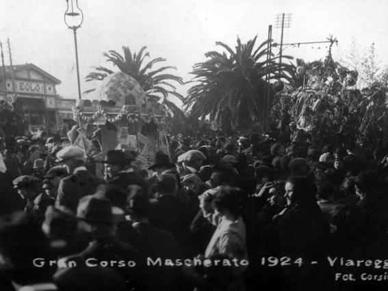 Giapponesi al Carnevale di Viareggio di Sig.ra Barsottelli e Sig. Pini - Carri piccoli - Carnevale di Viareggio 1924