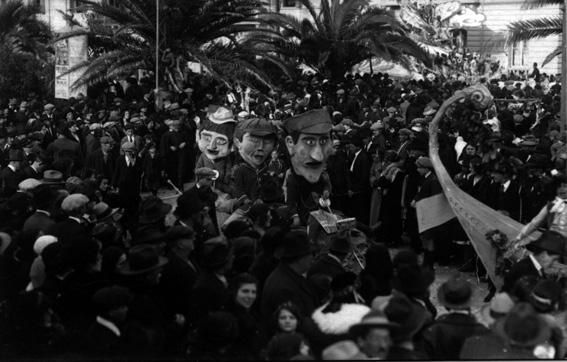 Giro del mondo a bordo di una tartaruga e una chiocciola di  - Mascherate di Gruppo - Carnevale di Viareggio 1924