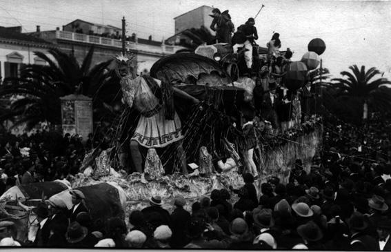 Nizza a Viareggio di Raffaello Giannini - Carri grandi - Carnevale di Viareggio 1924