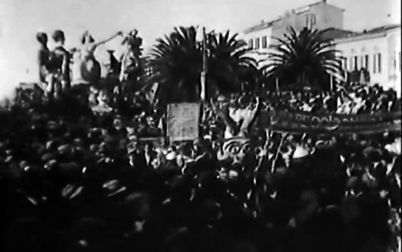 Il Principe di Corneto di Giuseppe Ginili - Mascherate di Gruppo - Carnevale di Viareggio 1925