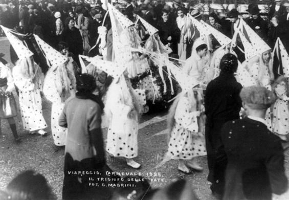 Il trionfo delle fate di Roma Tamagnini - Mascherate di Gruppo - Carnevale di Viareggio 1925