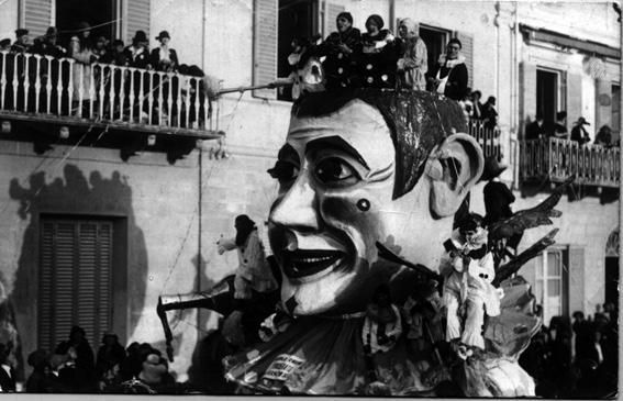 Lo spensierato di Alfredo Pardini - Carri piccoli - Carnevale di Viareggio 1925