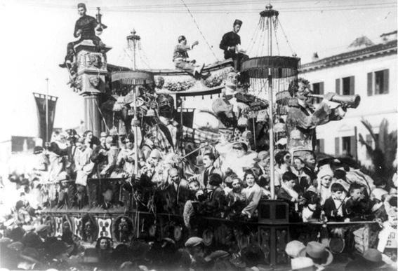 Musica eletta di Raffaello Giannini - Carri grandi - Carnevale di Viareggio 1925