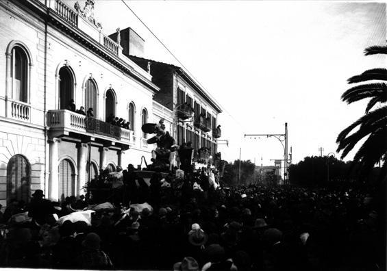 Sua Maesta il carnevale a Viareggio di Spartaco Di Ciolo - Carri grandi - Carnevale di Viareggio 1925