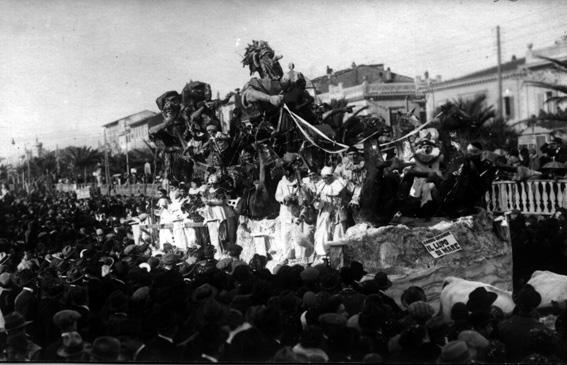 Il lupo di mare di Rolando Morescalchi - Carri grandi - Carnevale di Viareggio 1926