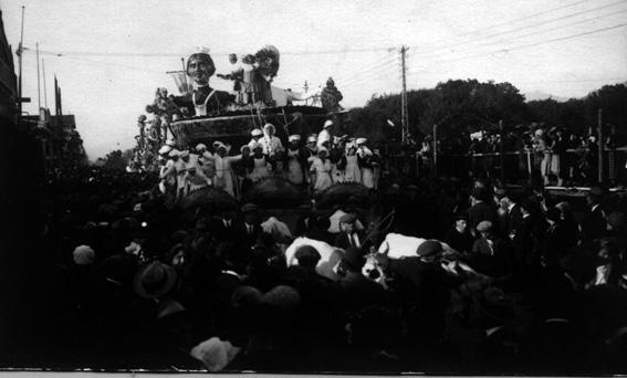 Il tortello di Guido Baroni - Carri grandi - Carnevale di Viareggio 1926