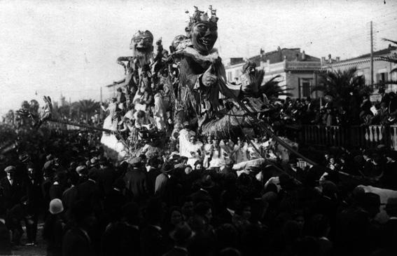 La favola del carnevale di Alfredo Pardini - Carri grandi - Carnevale di Viareggio 1926