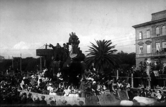 La suocera moderna di Alfredo Morescalchi - Carri grandi - Carnevale di Viareggio 1926