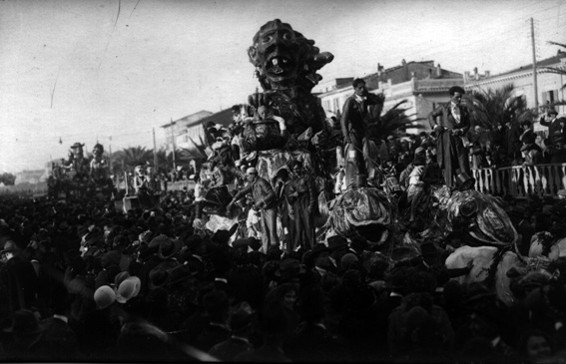 Le pesciaie al carnevale di Alfredo Catarsini - Carri grandi - Carnevale di Viareggio 1926