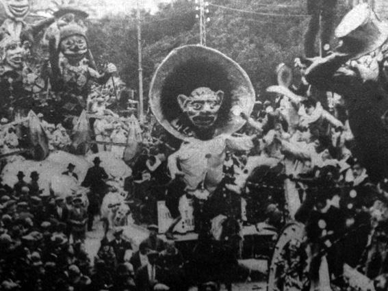 Canzonette popolari di Alighiero Cattani - Carri piccoli - Carnevale di Viareggio 1927
