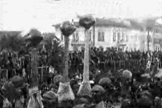 E carnevale. Mariniamo la scuola di A. Balestri - Mascherate di Gruppo - Carnevale di Viareggio 1927