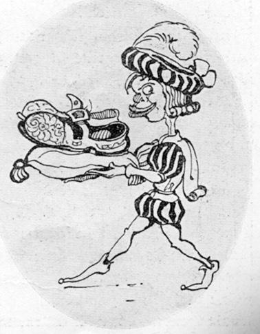 Il paggio del carnevale di  - Maschere Isolate - Carnevale di Viareggio 1927