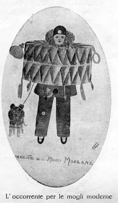 L occorrente per le mogli moderne di  - Maschere Isolate - Carnevale di Viareggio 1927