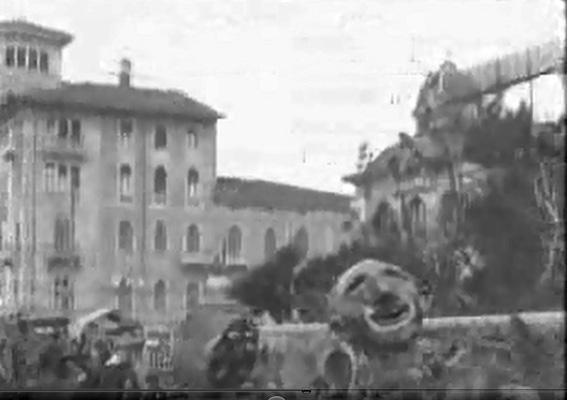 La geometria del carnevale di Vincenzo Biagini - Mascherate di Gruppo - Carnevale di Viareggio 1927