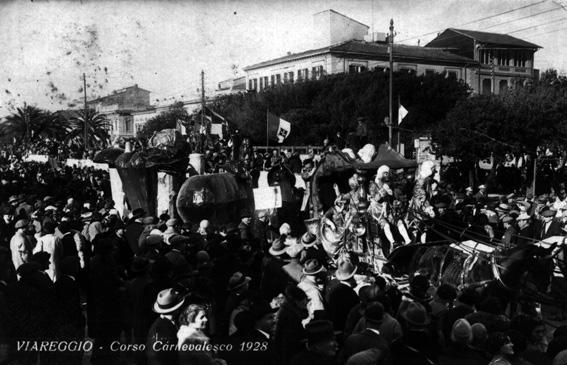 Frutta e verdura di stagione di A. Balestri - Mascherate di Gruppo - Carnevale di Viareggio 1928
