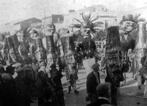 I toscani al carnevale di Taddei - Mascherate di Gruppo - Carnevale di Viareggio 1928