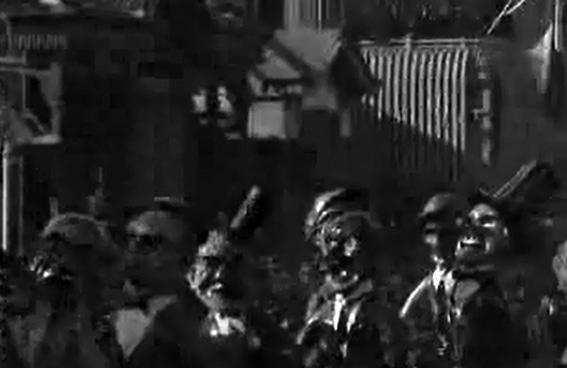 Il club degli scapoli di Armando Ramacciotti - Mascherate di Gruppo - Carnevale di Viareggio 1928