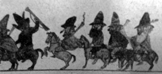 La banda del brigante Stoppa di Alfredo Morescalchi - Mascherate di Gruppo - Carnevale di Viareggio 1928