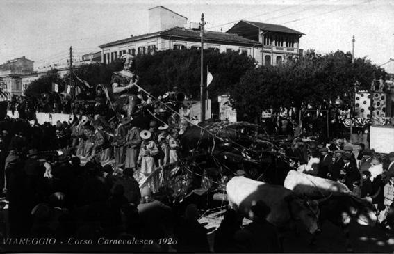 Marinella di Mario Tofanelli - Carri piccoli - Carnevale di Viareggio 1928