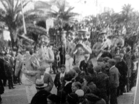 Musica in carnevale di Bancheri - Mascherate di Gruppo - Carnevale di Viareggio 1928