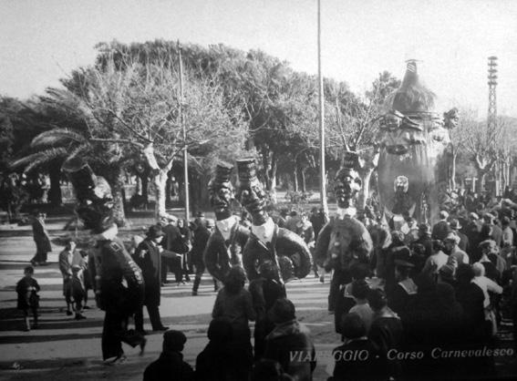 Spirito e spiritati di Michelangelo Marcucci - Mascherate di Gruppo - Carnevale di Viareggio 1928