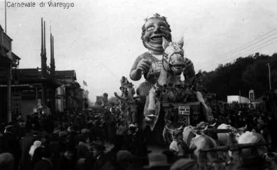 Come me la godo di Michelangelo Marcucci e Raffaello Raffaelli - Carri grandi - Carnevale di Viareggio 1929