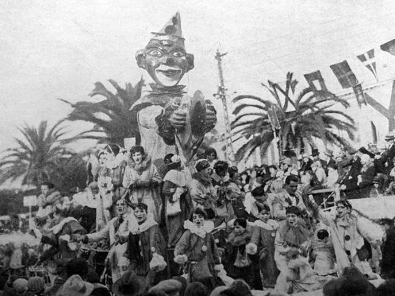 Giocattolo per bambini di Angelo Gori - Carri piccoli - Carnevale di Viareggio 1929