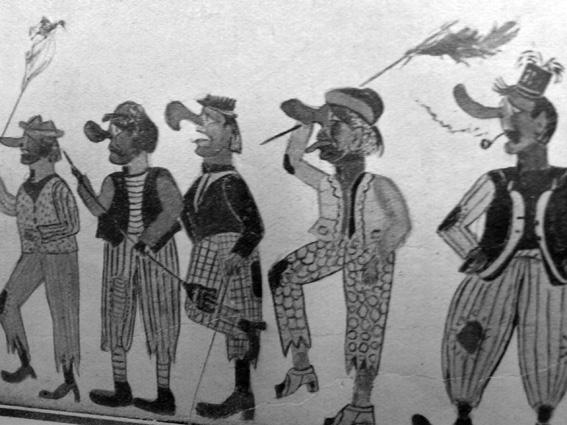 Gli scacciapensieri di Roberto Bartolucci - Mascherate di Gruppo - Carnevale di Viareggio 1929