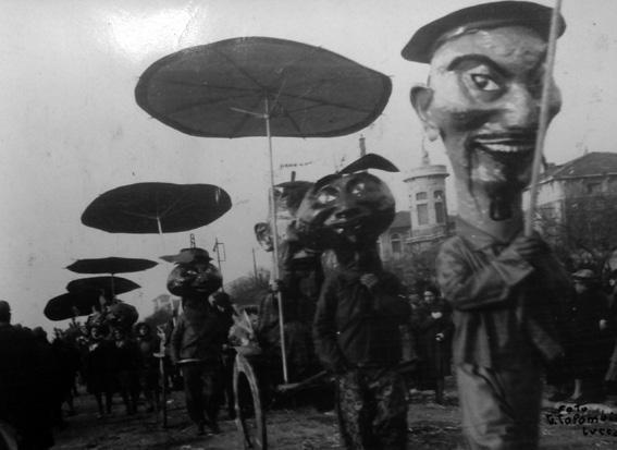I Mandarini di Carlo Bergamini - Mascherate di Gruppo - Carnevale di Viareggio 1929