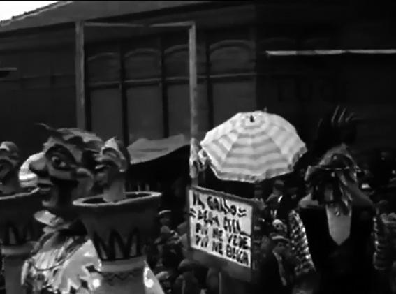 Il gallo della Checca di Francesco Francesconi - Maschere Isolate - Carnevale di Viareggio 1929