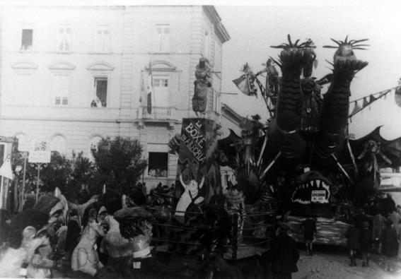 La boxe di Antonio Baroni - Mascherate di Gruppo - Carnevale di Viareggio 1929