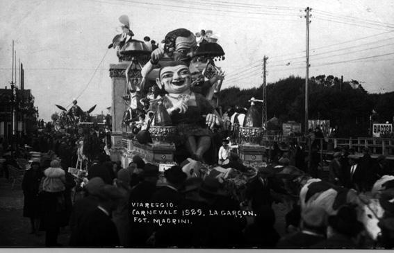 La garconne di Michele Pardini - Carri piccoli - Carnevale di Viareggio 1929