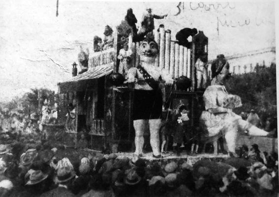 Padiglione delle meraviglie di Guido Baroni - Carri piccoli - Carnevale di Viareggio 1929