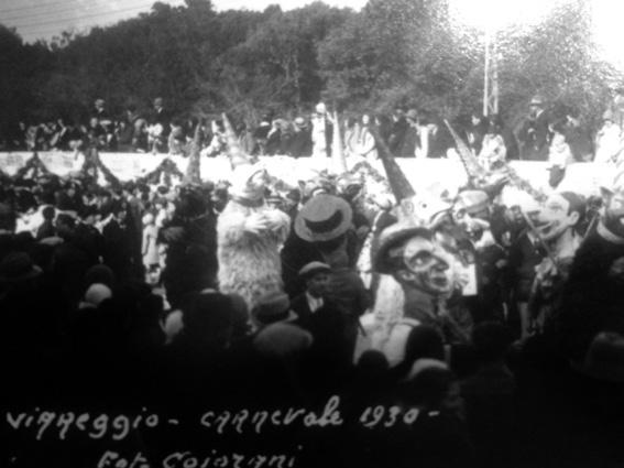 Ballo degli orsi di Armando Ramacciotti - Mascherate di Gruppo - Carnevale di Viareggio 1930