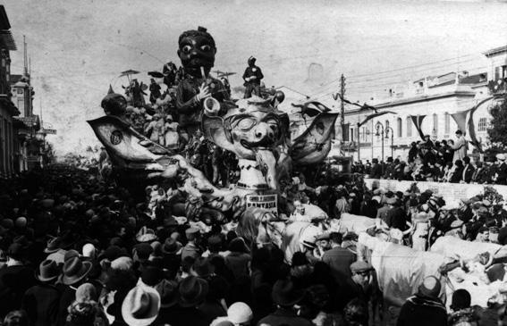 Fantasia di carnevale di Michele Pescaglini - Carri grandi - Carnevale di Viareggio 1930