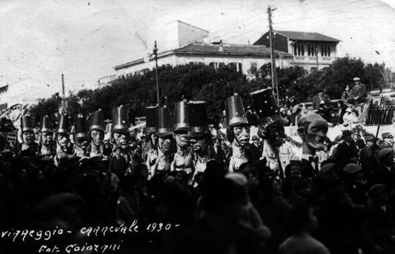 La ronda delle suocere di Alfredo Morescalchi e Marcello Di Volo - Mascherate di Gruppo - Carnevale di Viareggio 1930
