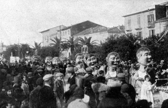 Primi passi di M. Malfatti - Mascherate di Gruppo - Carnevale di Viareggio 1930