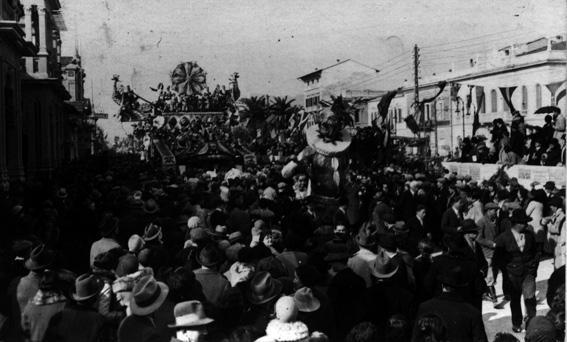 Re carnevale di Alfredo Morescalchi - Maschere Isolate - Carnevale di Viareggio 1930
