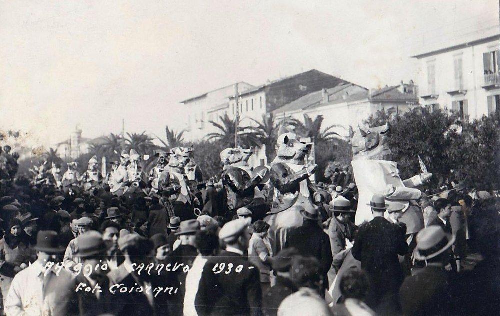 Serenata malandrina di Danilo Di Prete - Mascherate di Gruppo - Carnevale di Viareggio 1930