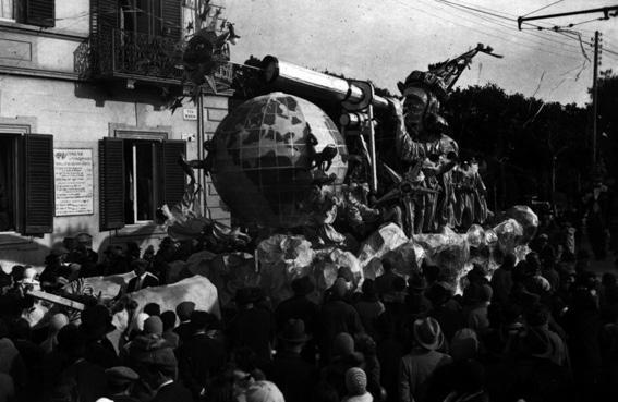 Un fenomeno celeste di Alighiero Cattani - Carri piccoli - Carnevale di Viareggio 1930