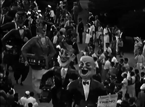 Abbiamo preso il treno Nizza Viareggio di Fabio Malfatti - Mascherate di Gruppo - Carnevale di Viareggio 1931