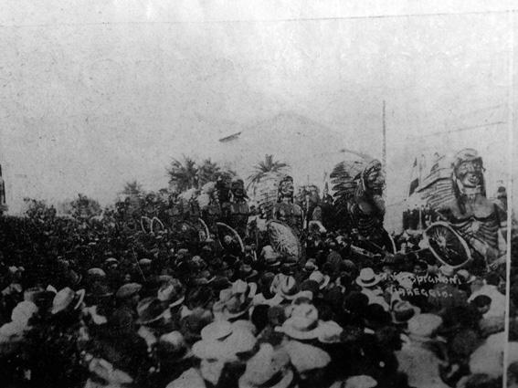 Assalto al carnevale di Guido Tomei - Mascherate di Gruppo - Carnevale di Viareggio 1931