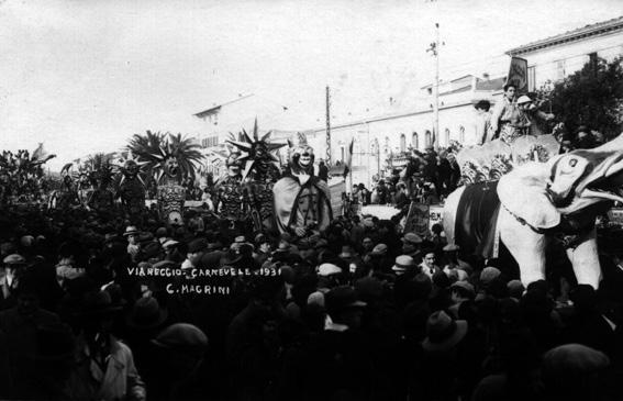 Carnevale alle stelle di Danilo Di Prete - Mascherate di Gruppo - Carnevale di Viareggio 1931